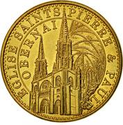 Jeton Touristique - Monnaie de Paris - Obernai – obverse