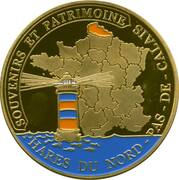 Jeton touristique - Souvenirs et Patrimoine - Audinghen - Phare du Cap Gris Nez – reverse