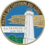 Jeton touristique - Souvenirs et Patrimoine - La Tranche sur mer - Phare du Grouin du cou – obverse