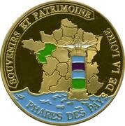 Jeton touristique - Souvenirs et Patrimoine - Noirmoutier - Phare de la pointe des Dames – reverse