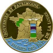 Jeton touristique - Souvenirs et Patrimoine - Saint Gilles Croix de Vie - Phare – reverse