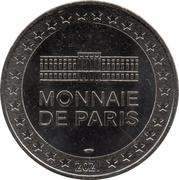 Jeton Touristique - Monnaie de Paris - Jean de la Fontaine - 400è anniversaire – reverse