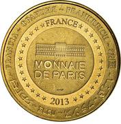 Jeton Touristique - Monnaie de Paris - Chenonceau - Château de Chenonceaun 1513-2013 – reverse