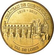 Jeton Touristique - Monnaie de Paris - Chenonceau - Château de Chenonceaun 1513-2013 - Val de Loire – obverse