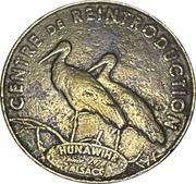 Jeton souvenir - Monnaie de Paris - Centre de réintroduction Hunawihr – obverse