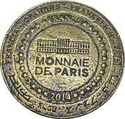 Jeton souvenir - Monnaie de Paris - Centre de réintroduction Hunawihr – reverse