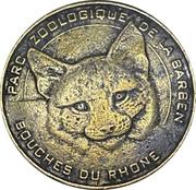 Jeton souvenir - Monnaie de Paris - Parc zoologique de la Barben – obverse
