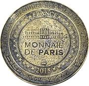 Jeton souvenir - Monnaie de Paris - Parc zoologique de la Barben – reverse