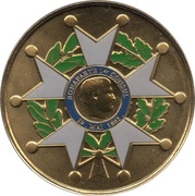 Jeton Touristique - Monnaie de Paris - Napoléon 1er - Bicentenaire de sa disparition - Légion d'honneur – obverse