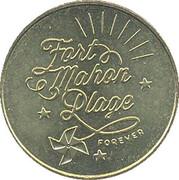 Jeton Touristique - Monnaie de Paris - Fort Mahon Plage - Forever -  obverse