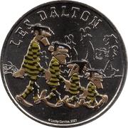 Jeton touristique - Monnaie de Paris - Lucky Luke - Les Dalton -  obverse