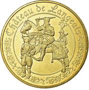 Jeton Touristique - Monnaie de Paris - Langeais - Château - Les chevaliers – obverse
