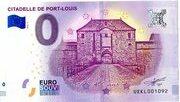 0 Euro (Citadelle de Port-Louis) – obverse