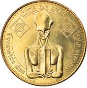 Jeton Touristique - Monnaie de Paris - Saint-Amand Montrond - Cité de l'or – obverse
