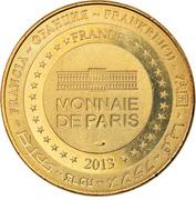 Jeton Touristique - Monnaie de Paris - Saint-Amand Montrond - Cité de l'or – reverse