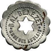 Bon pour une danse - Bal Benézet - Paris [75] – obverse