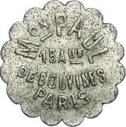 Bon pour une danse - Bal Maison Paul - Paris [75] – obverse