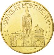 Jeton Touristique - Monnaie de Paris - Montivilliers - L'abbaye – obverse
