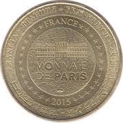 Jeton Touristique - Monnaie de Paris - Fécamp – reverse
