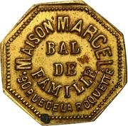 Bon pour une danse - Bal de Famille - Maison Marcel - Paris [75] – obverse