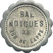 Bon pour une danse - Bal Noygues - Paris [75] – obverse