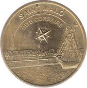 Jeton touristique - Médailles et Patrimoine - Saint Malo - Ctié Corsaire – obverse