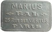 Bal Marius - Paris [75] – obverse