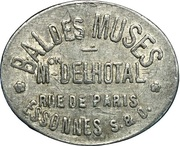 Bon pour une danse - Bal des Muses - Maison Delhotal - Corbeil-Essonnes [91] – obverse