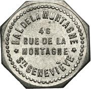 Bon pour une danse - bal de la Montagne - Paris [75] – obverse