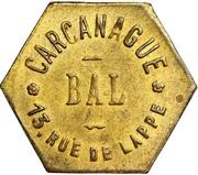 Bon pour une danse - Bal Carcanague - Paris [75] – obverse