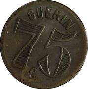 GUERIN 75 C – obverse