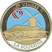 Jeton touristique - Souvenir et Patrimoine - La Bourrine - Vendée – obverse