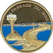 Jeton touristique - Souvenir et Patrimoine - Noirmoutier - Passage du Gois – obverse