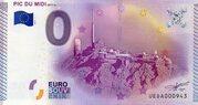 0 euro Pic du Midi – obverse