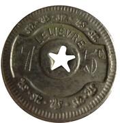 75 centimes (Le Lièvre) – obverse
