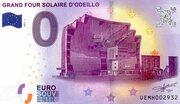 0 euro Grand Four Solaire D'Odeillo – obverse