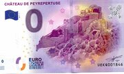 0 euro Chateau de Peyrepertuse – obverse
