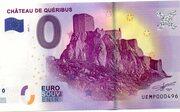 0 euro Chateau de Quéribus – obverse