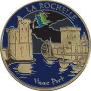 Jeton touristique - Souvenir et Patrimoine - La Rochelle - Vieux Port – obverse