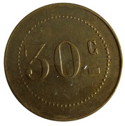 30 centimes - Pavillon de Neptune – reverse