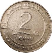 2 euro - Casino de Cassis – reverse
