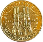 Jeton touristique - Arthus Bertrand - Cathédrale de Reims – obverse