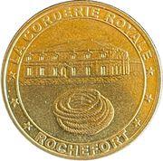 Jeton touristique - Médailles et patrimoine - La corderie royale – obverse