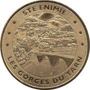 Jeton Touristique - Monnaie de Paris - Gorges du Tarn - Ste Enimie – obverse