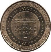 Jeton Touristique - Monnaie de Paris - Gorges du Tarn - Ste Enimie – reverse