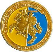 Jeton touristique - Souvenirs et patrimoine - Carcassonne – reverse