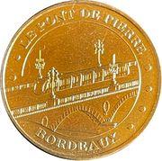Jeton touristique - Monnaie de Paris -  Le pont de pierre - Bordeaux – obverse