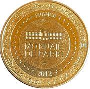 Jeton touristique - Monnaie de Paris -  Le pont de pierre - Bordeaux – reverse