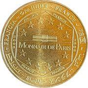 Jeton touristique - Monnaie de Paris -  Carennac – reverse