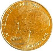 Jeton touristique - Monnaie de Paris -  Homme de Tautavel – obverse